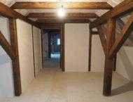 Dřevěné obložení v podkroví