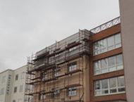 Nástavba bytového domu v Hradci Králové